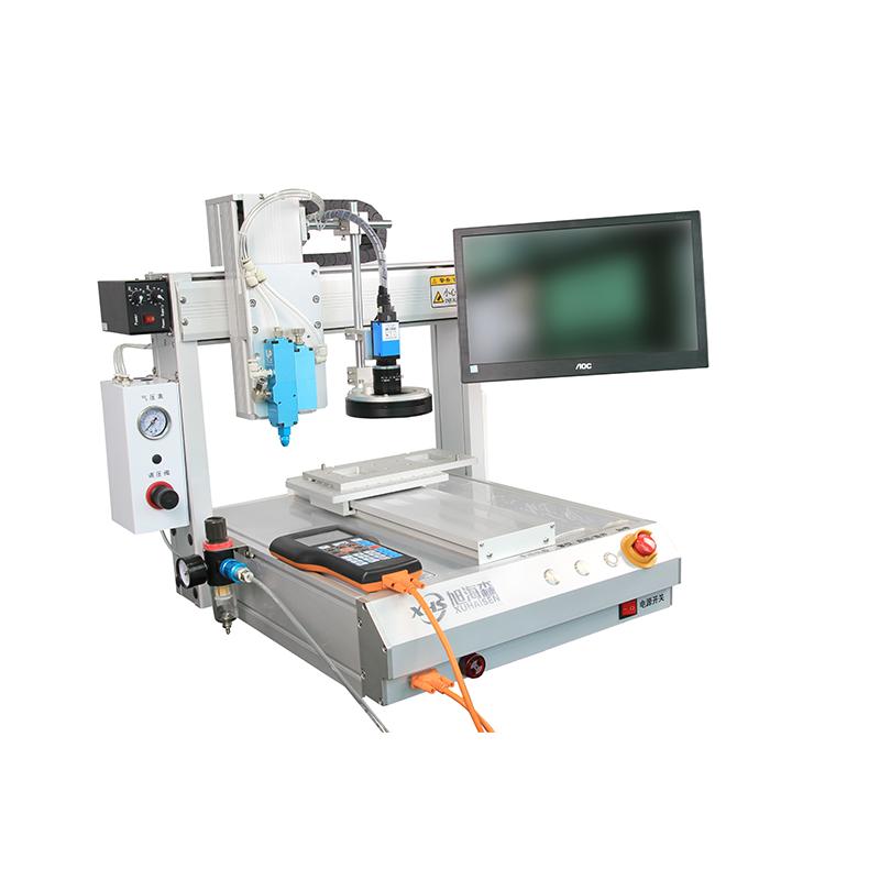深圳三轴全自动点胶机机器人平台带视觉定位视觉检测设备